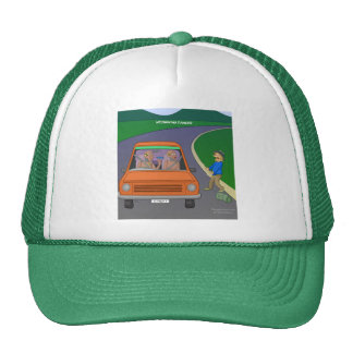 Autoestop del gorra del peligro