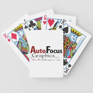 AutoFocus Graphics Bicycle Playing Cards