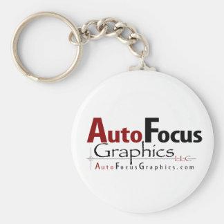 AutoFocus Graphics Keychain