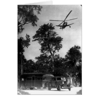 Autogiro del pasajero, la Florida Club a lo largo  Tarjetón