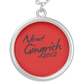 AUTÓGRAFO 2012 DE NEWT GINGRICH PENDIENTE PERSONALIZADO