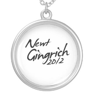 AUTÓGRAFO 2012 DE NEWT GINGRICH COLLAR PERSONALIZADO