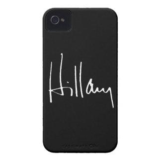 AUTÓGRAFO DE HILLARY CLINTON - PNG iPhone 4 FUNDA