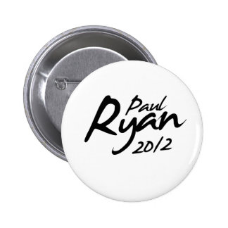 Autógrafo de PAUL RYAN 2012 Pin