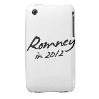 Autógrafo de ROMNEY 2012 Case-Mate iPhone 3 Cobertura