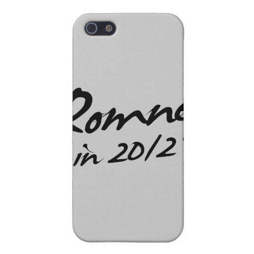 Autógrafo de ROMNEY 2012 iPhone 5 Coberturas