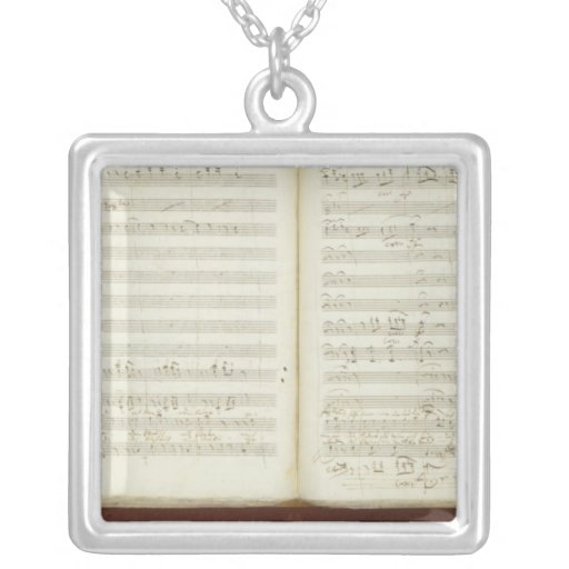 Autograph copy of 'The Magic Flute' Pendant