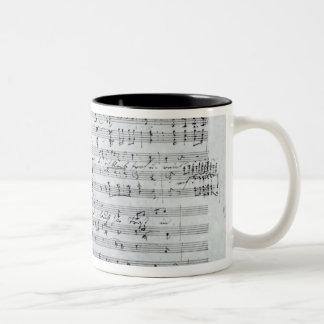 Autograph score for the lied 'Des Sangers Habe' Mugs