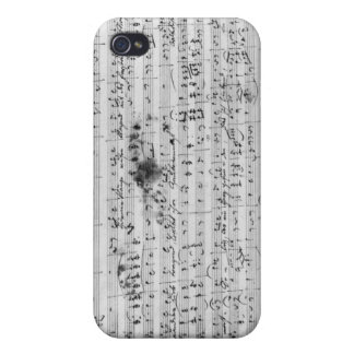 Autograph score for the lied 'Trost' Case For iPhone 4