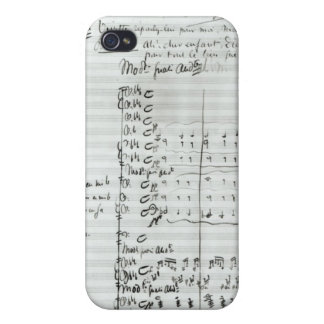 Autograph Score of Act III iPhone 4/4S Covers
