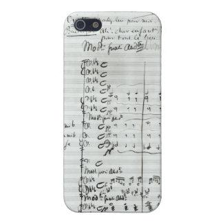 Autograph Score of Act III iPhone SE/5/5s Case