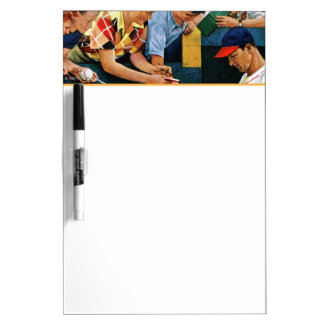 Autograph Session Dry Erase Boards