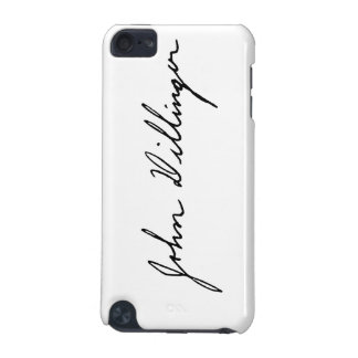 Autograph Signature of John Dillinger iPod Touch (5th Generation) Cover