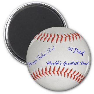 Autographed Baseball Magnet