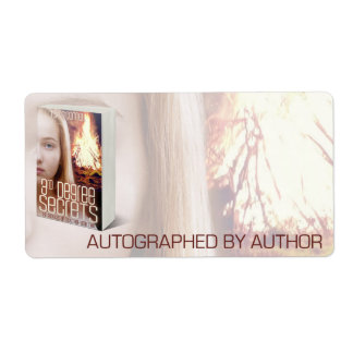 Autographed by Author for 3rd Degree Secrets Custom Shipping Label