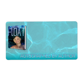 Autographed by Author for Float Personalized Shipping Labels