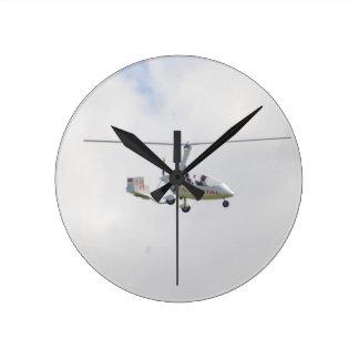 Autogyro Round Clocks