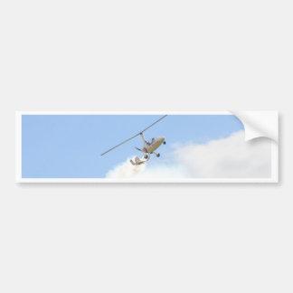 Autogyro In Flight Bumper Sticker