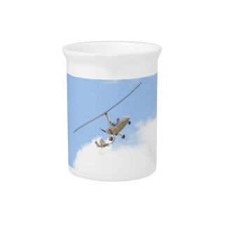 Autogyro In Flight Drink Pitcher