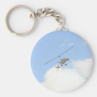 Autogyro In Flight Keychain