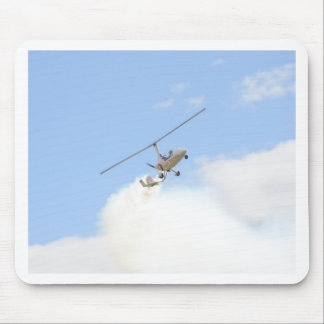 Autogyro In Flight Mouse Pad