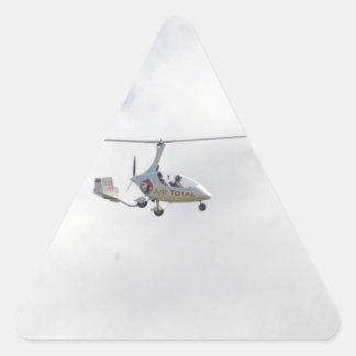 Autogyro Triangle Sticker