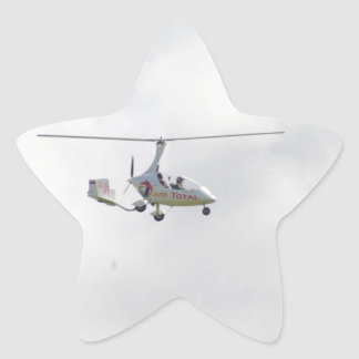Autogyro Star Sticker