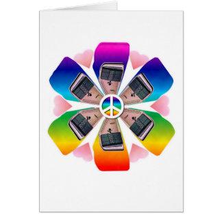 Autoharp Flower Card