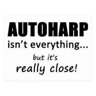 Autoharp Isn't Everything Postcard