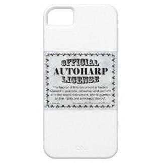 Autoharp License iPhone SE/5/5s Case