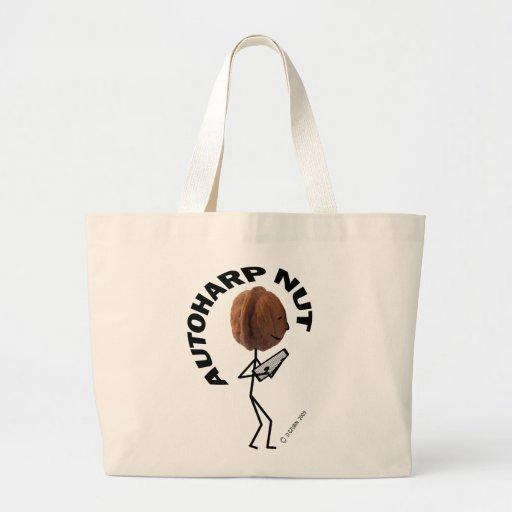 Autoharp Nut Jumbo Tote Bag