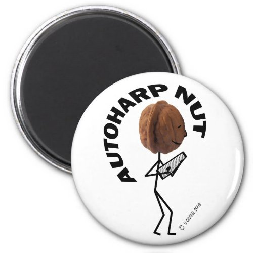 Autoharp Nut Round Magnet
