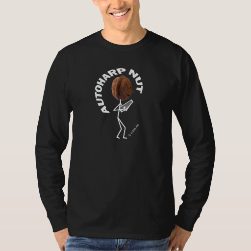 Autoharp Nut Long Sleeve T-Shirt
