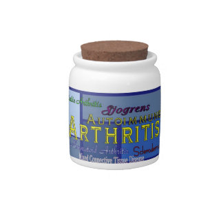 Autoimmune Arthritis Awareness Candy Jar