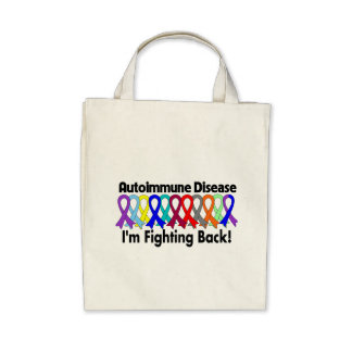 Autoimmune Awareness I m Fighting Back Bag