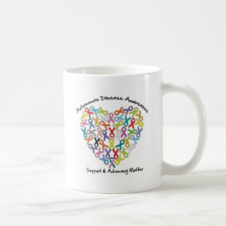 Autoimmune Disease Awareness Heart Coffee Mug