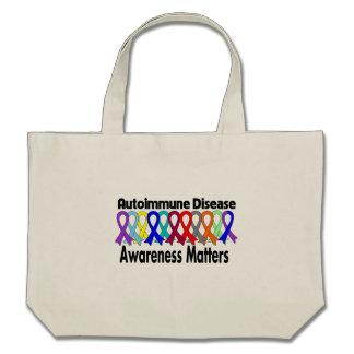Autoimmune Disease Awareness Matters Tote Bags
