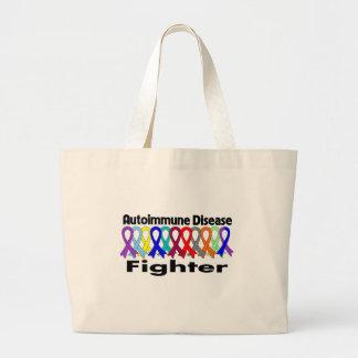 Autoimmune Disease FIGHTER Canvas Bag