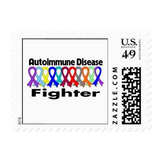 Autoimmune Disease FIGHTER Postage Stamps