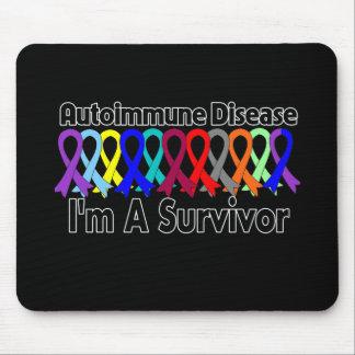 Autoimmune Disease I Am A Survivor Mousepads