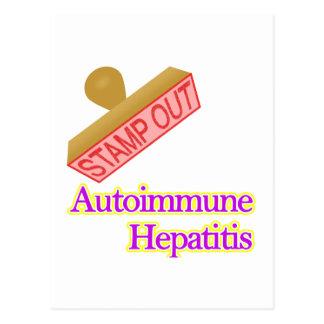 Autoimmune Hepatitis Postcard