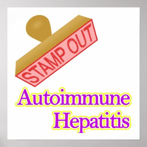 Autoimmune Hepatitis Poster