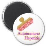 Autoimmune Hepatitis Refrigerator Magnet
