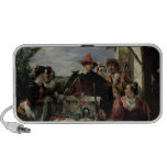 Autolycus, scene from 'A Winter's Tale', 1836 (oil iPhone Speaker