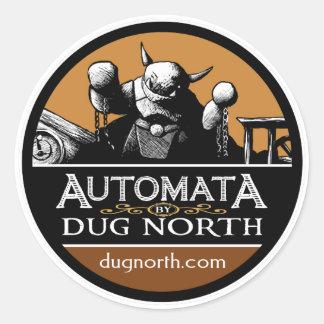 Automata by Dug North Classic Round Sticker