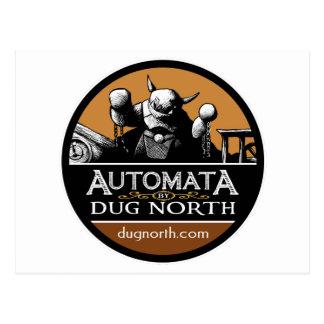 Automata by Dug North Postcard