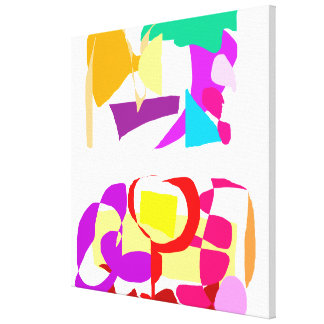 Automatic Coloring Gallery Wrapped Canvas