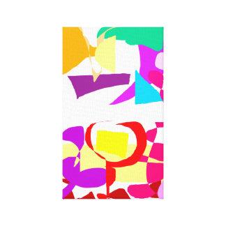 Automatic Coloring Canvas Prints