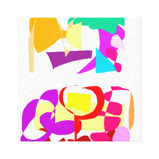Automatic Coloring Canvas Print
