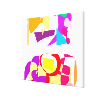 Automatic Coloring Gallery Wrap Canvas